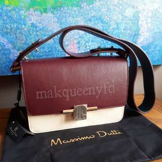 (BNWT) MASSIMO DUTTI LEATHER HANDBAG