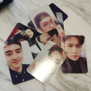 EXO ~ EXACT SIGNATURE CARDS ~ READY STOCK