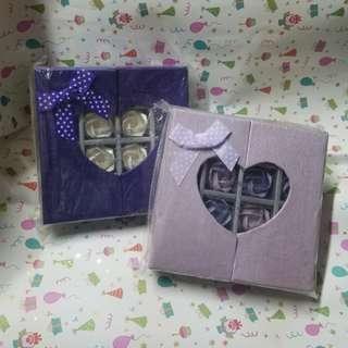 玫瑰花禮物盒2個
