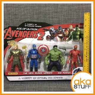 Avengers iron man hulk captain america cake topper