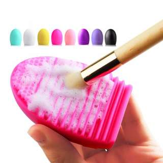 Egg Makeup Brush Cleaner