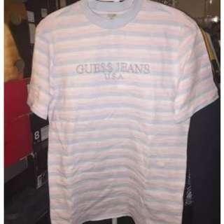 LF Guess x Asap Pink stripe