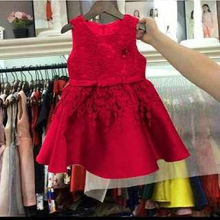 Dress Pesta Anak Usia 3-5 Th