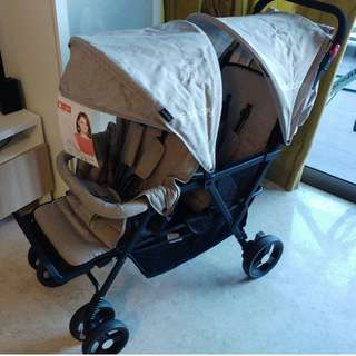 Seebaby Twin Stroller / Delivery Incl. / Like new