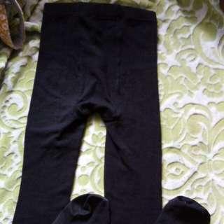 Footed leggings for teens