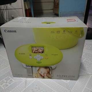 Canon selphy cp790 相片打印機 printer
