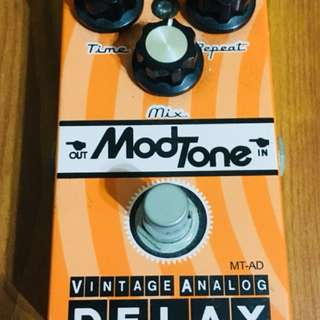 Modtone Vintage Analog Delay Guitar Pedal