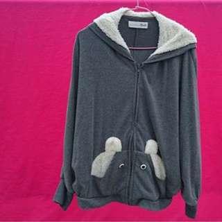 🚚 Dailo動物系列飛鼠袖短版外套