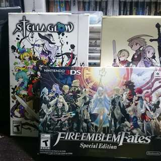 3DS Games (Special Editions, Launch Editions)