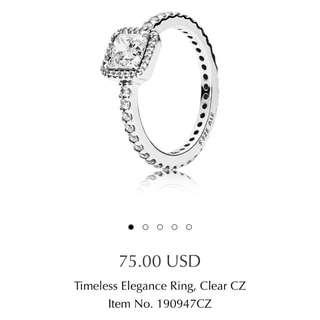 Pandora Ring - Timeless Elegance