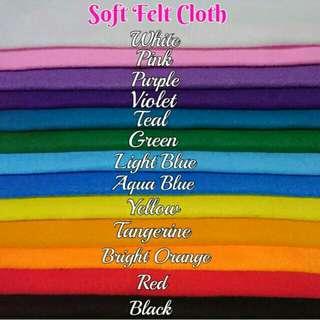 Soft Felt Cloth