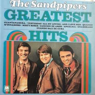 Oldies record - The Sandpipers (Greatest Hits)
