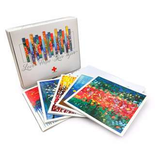 Singapore Red Cross Greeting Card Set