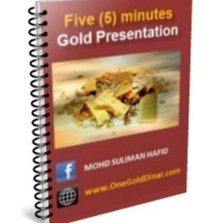 #Blessing Free E-Book to download 5 MInutes Gold Presentation