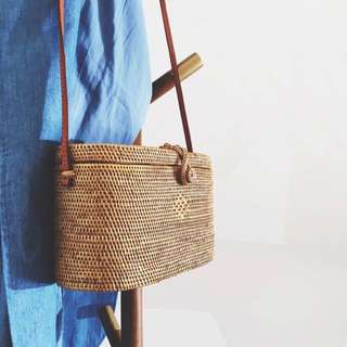Bali Wicker Straw Rattan Bag