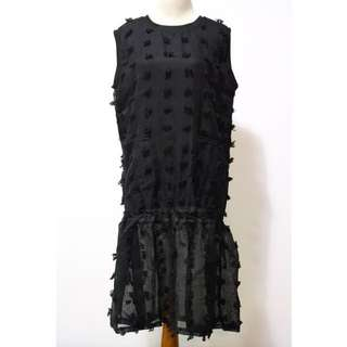 Frilly Dress Black