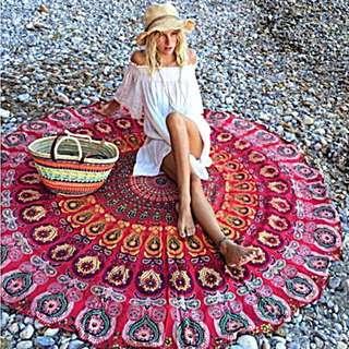 Mandala Yoga Summer Beach Towel