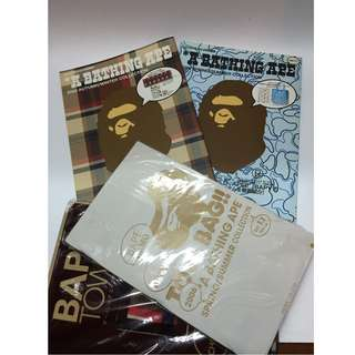 Bathing Ape Catalogue Book x2 Tote Bag/Towel!
