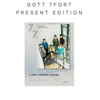 Got7 - 7 For 7 Present Edition