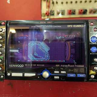 Kenwood double din player FM Jepun