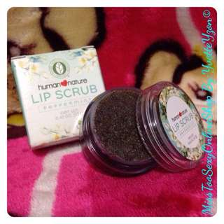 Human Nature Lip Scrub 💋💋💋