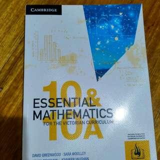 Cambridge Essential Mathematics 10 & 10A