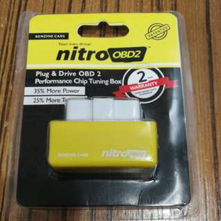 [ORIGINAL] NITRO OBD2 Plug and Drive Chip Tuning Box Increase Engine Performance 35% & Fuel Saving up to 15%