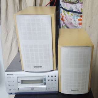panasonic dvd stereo system. MOVING OUT SALE!