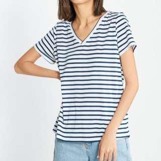 Stripe Tee by Pomelo Fashion
