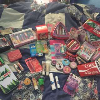 NEW LIP BALMS, SEVERAL BRANDS AND PACKS