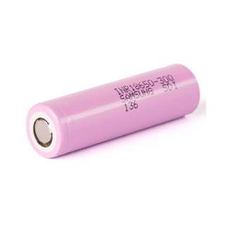 Samsung 30Q 18650 3.7v 3000mah 15A High Drain Rechargeable Battery (1 piece)