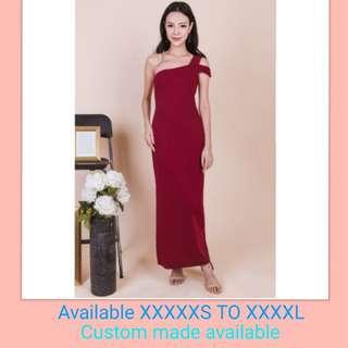Toga Maxi Red Dress