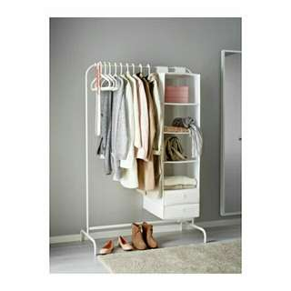 🆕🔥CLEAR STOCK !! IKEA MULIG CLOTHES RACK
