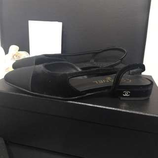 Chanel Sling back flats size 37