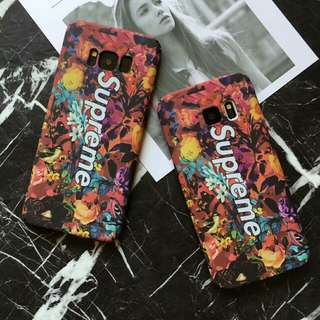 Supreme Flower Pattern|High Quality Phone Case For Samsung S7/S8/S8Plus