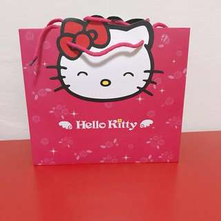 BN Hello Kitty Paper Gift Bag