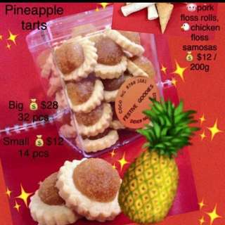 $12 pineapple tarts