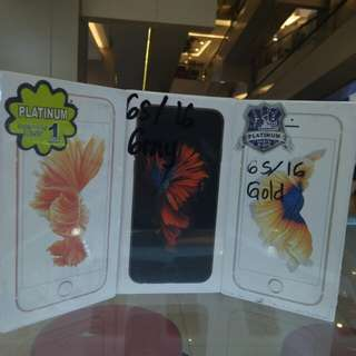 Iphone 6S 64GB Gold Gray rosegold