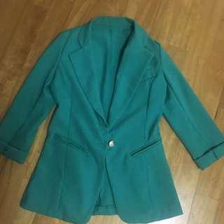 🚚 二手 Tiffany綠 西裝外套