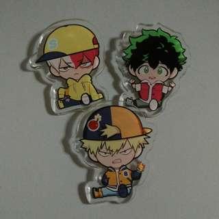BNHA Acrylic pins