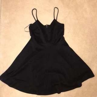 Little Black Spaghetti Strap Dress