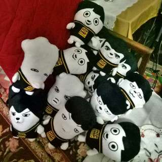 On-hand BTS HipHop Monster Dolls / Stuffed Toys