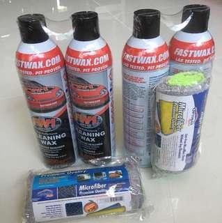 FW1 Waterless Cleaning & Carnauba Wax (USA Product)