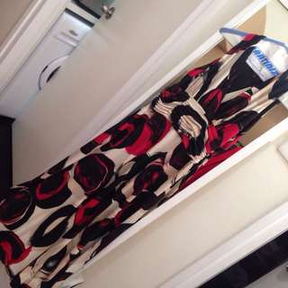 Jones New York 3/4 Maxi Dress size 2