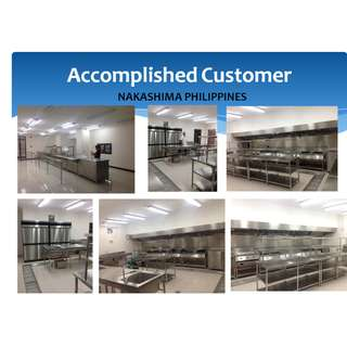 STAINLESS TABLES,SINKS AND OTHER KITCHEN AND RESTO EQUIPMENTS
