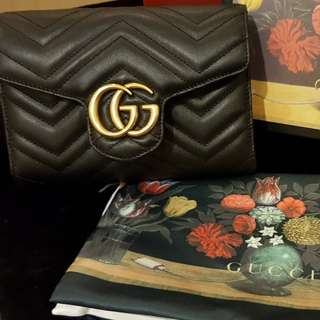 (GUCCI) NEW* GG Marmont matelassé (READY STOCK)