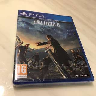 Final Fantasy XV - Day One Edition - PS4 (R2 - Europe)