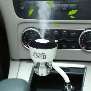Car humidifier two usb plug
