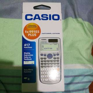 Calculator fx-991ES PLUS