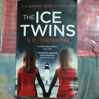 """THE ICE TWINS"" BY S.K. TREMAYNE"